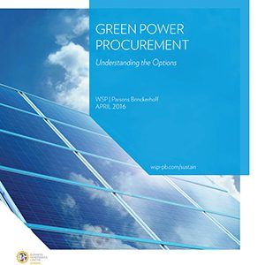 green power procurement, sustainable energy, PPA
